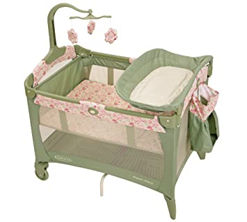 Amazon Com Graco Pack N Play Playard With Bassinet Ellie Baby