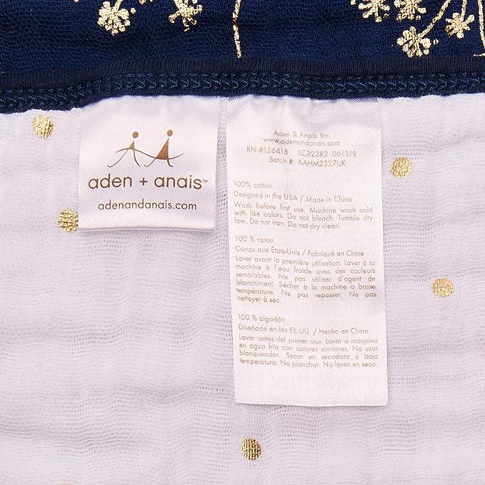 Aden + Anais 401-015 - Manta, diseño jirafa: Amazon.es: Bebé