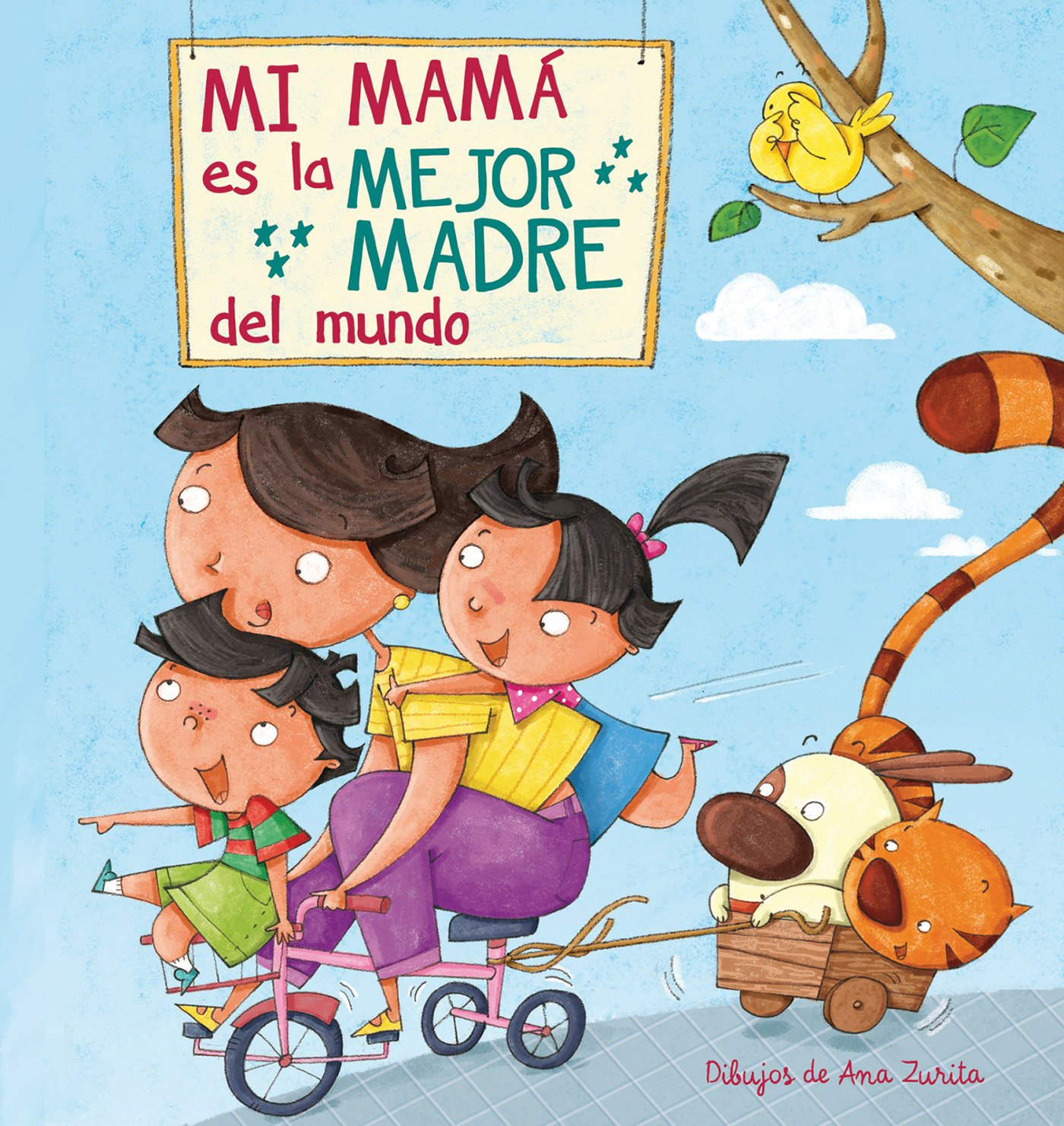 Mi máma es la mejor madre del mundo / My Mom is the best Mom in the World  (Spanish Edition): Ana Zurita, Lincoln Child: 9788448843922: Amazon.com:  Books