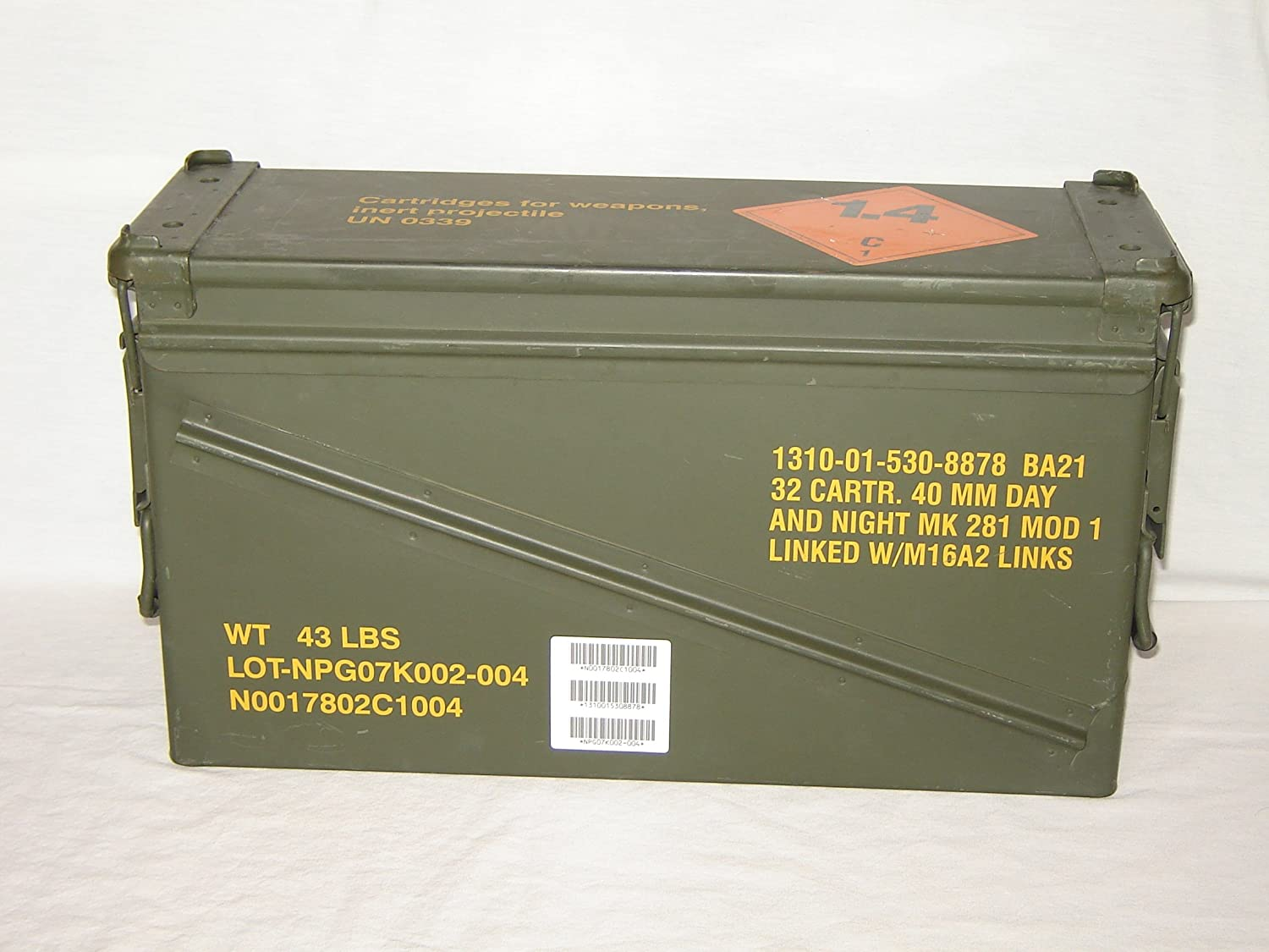 Amazon.com   Surplus Ammo Cans  40MM   Sports   Outdoors 5ea91d3cbf1