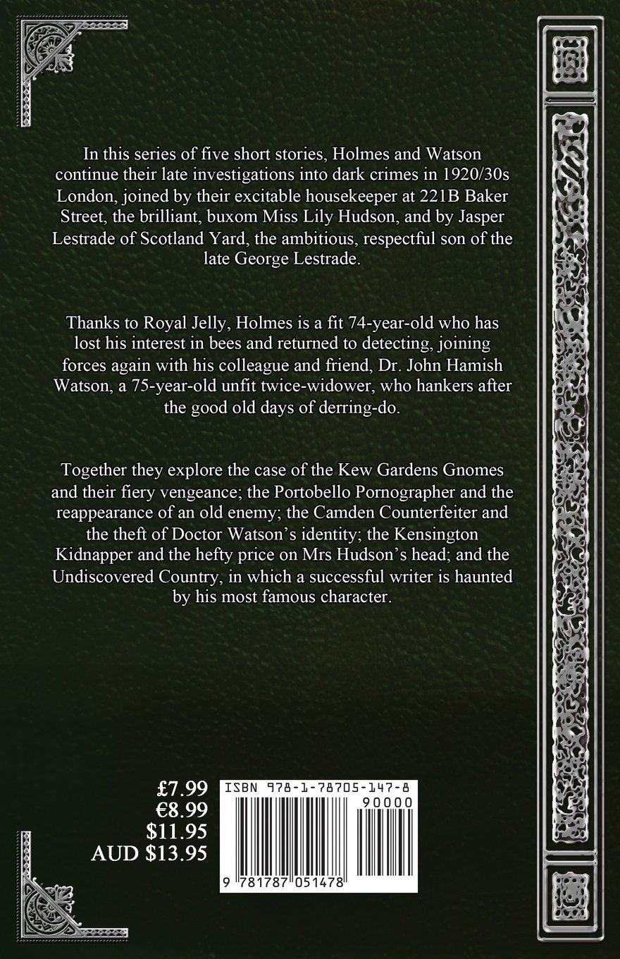 The Final Tales Of Sherlock Holmes  Volume Four: The Kew Gardens Gnomes:  John A Little: 9781787051478: Amazon: Books