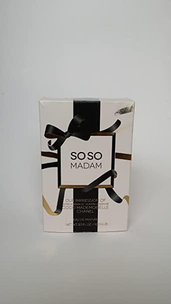 Soso Madam Womens Perfume By Preferred Fragrances-- Impression of Coco Mademoiselle By Chanel