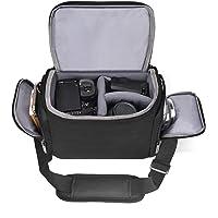 Shoulder Camera Bag Cwatcun Water Resistant Sling Camera Bag for Nikon Canon Sony Pentax Olympus Panasonic Samsung…