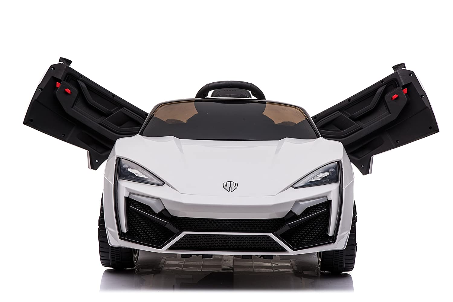 Toyhouse Fast n Furious Lykan Hypersport Car Rechargeable Battery Operated  Ride-on for Kids(2 to 7yrs) , White