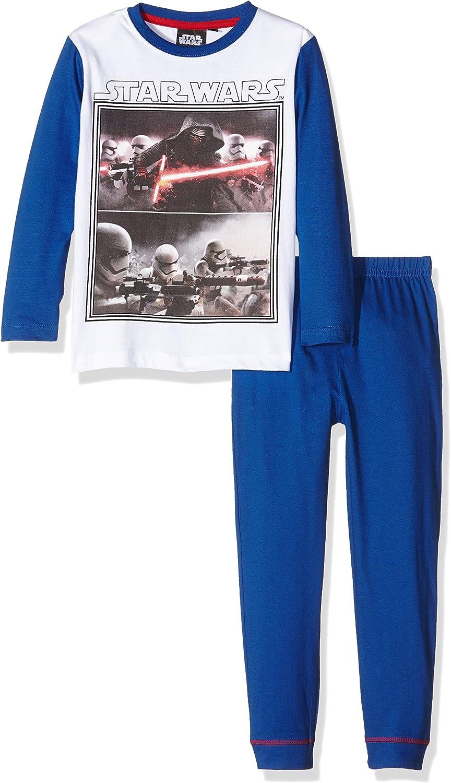 Disney Star Wars Conjuntos de Pijama, Azul (Touareg), 8 años ...