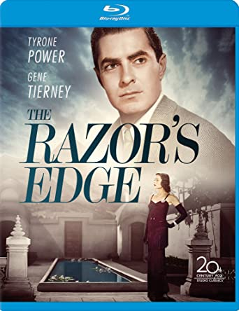 amazon com razor s edge the blu ray gene tierney anne baxter