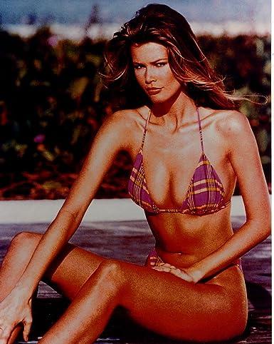 Claudia schiffer bikini