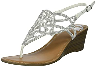 Fergalicious Charity Women's ... Wedge Sandals visa payment cheap online fa85g