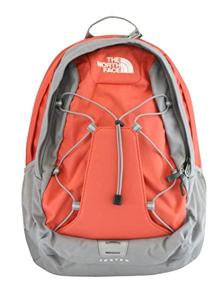 52d136714836 The North Face women's Jester Laptop Backpack BOOK BAG Emberglow orange