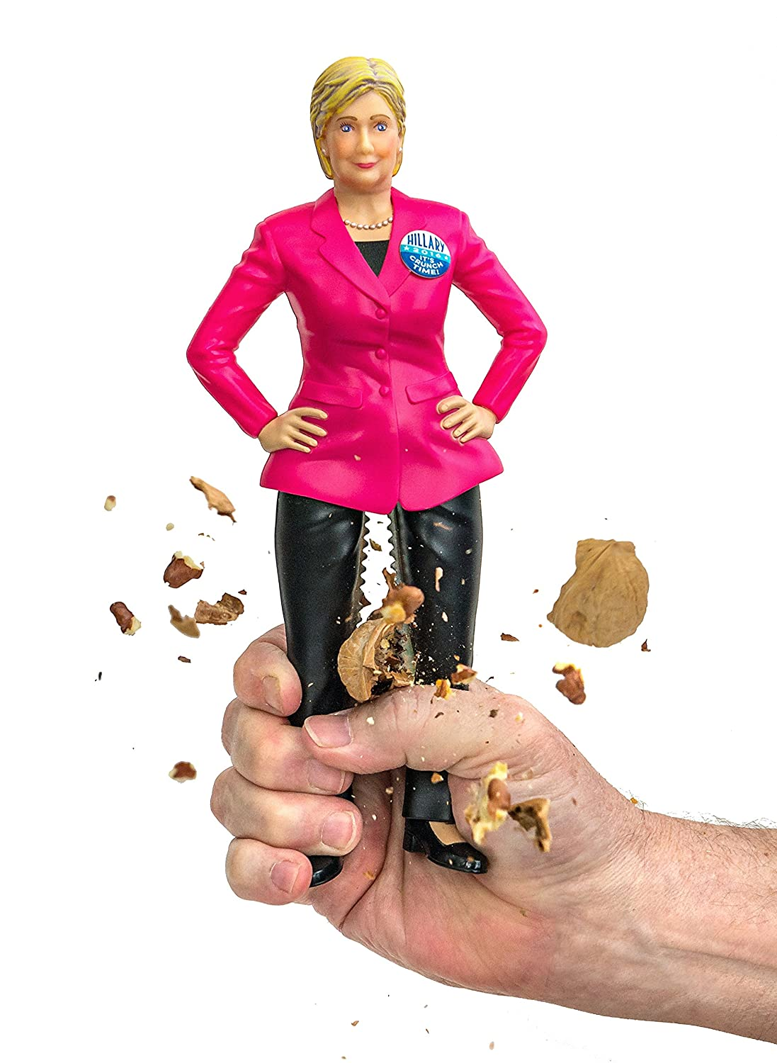 Damn Handy Products The Hillary Nutcracker with Stainless Steel Thighs and the Popular Vote 2016