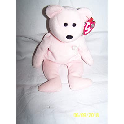 Ty Beanie Babies - Cure Breast Cancer Awareness Bear: Toys & Games