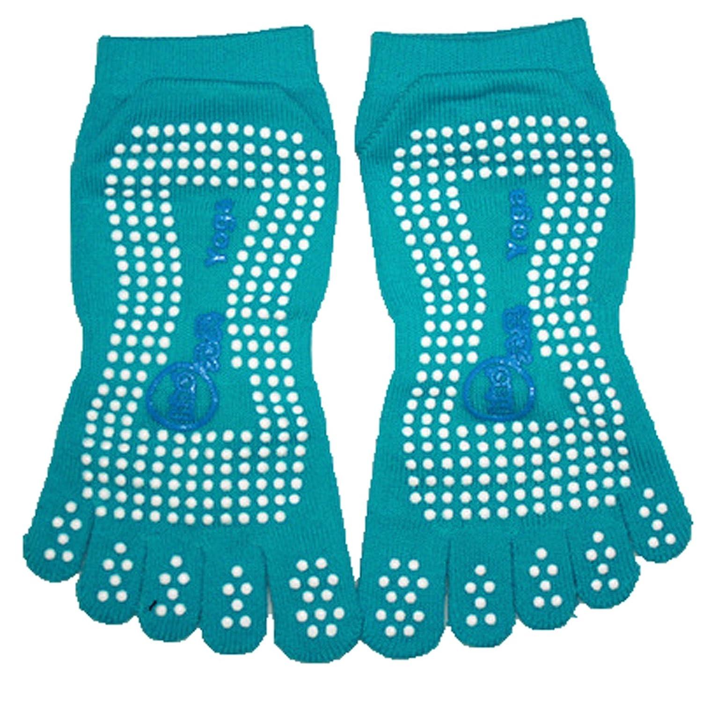 Yoga Gym Dance Sport Exercise Women 5 Toes Non Slip Massage Fitness Warm Socks