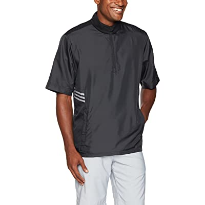 adidas Golf Club Short Sleeve Wind Jacket: Clothing