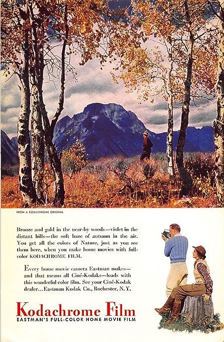 Print Ad 1941 Kodak Kodachrome Film