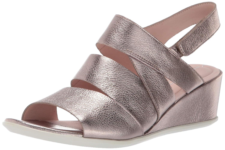 Stone Metallic ECCO Womens Shape 35 Wedge Sandal Wedge Sandal
