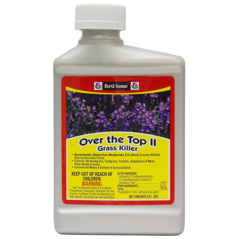 Weeds in flower beds spray - Amazon Com Fertilome 8 Oz Over The Top Grass Killer 10434 Weed Killers Patio Lawn Garden