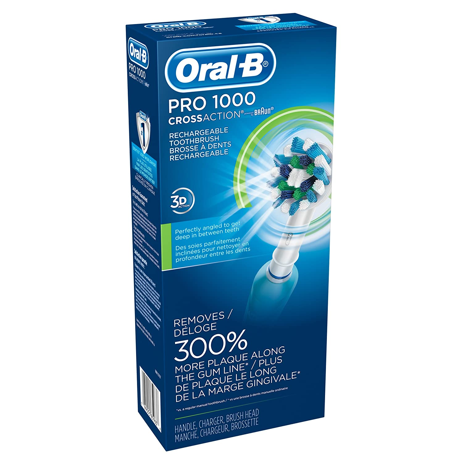 Oral-B Pro 1000 Power Rechargeable Electric Toothbrush Review