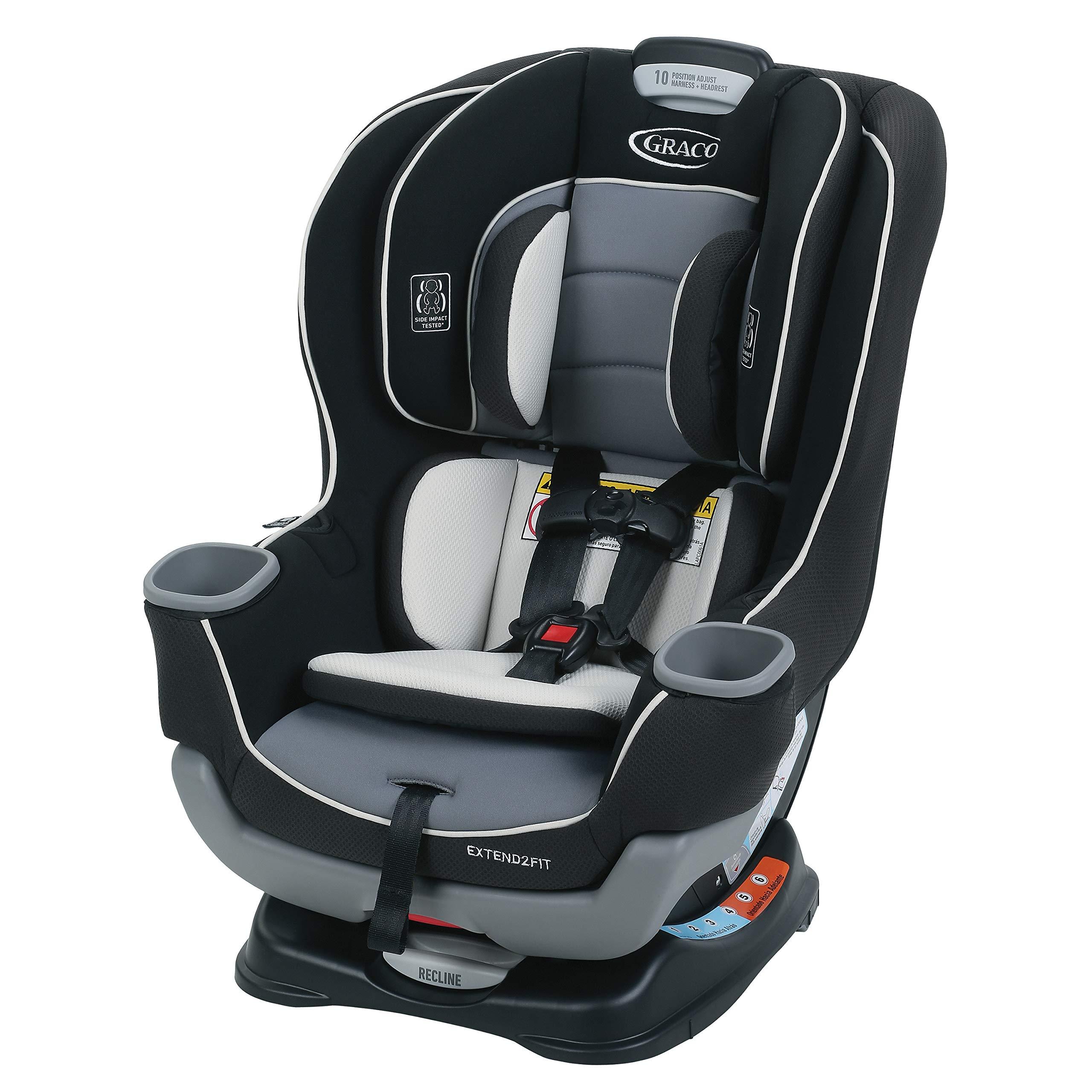 cfa891c08ad Amazon.com   Graco Extend2Fit Convertible Car Seat