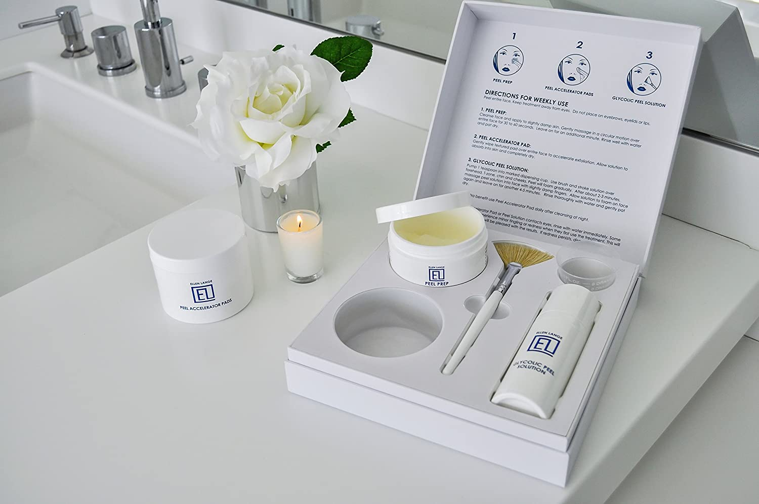 Amazon Com Ellen Lange Retexturizing Skin Peel Kit At Home