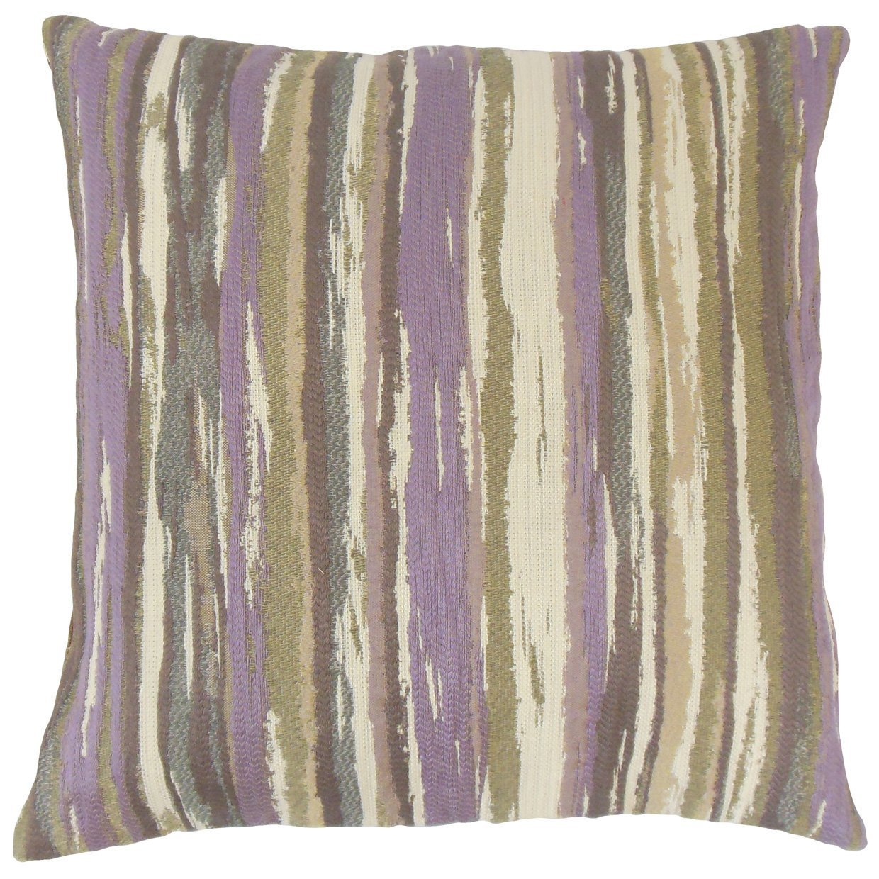 The Pillow Collection Uchenna Stripes Throw Pillow Cover