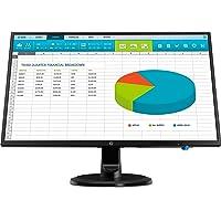 """HP N246v Pantalla para PC 60.5 cm (23.8"""") Full HD LED Plana Mate Negro - Monitor (60.5 cm (23.8""""), 1920 x 1080 Pixeles, Full HD, LED, 5 ms, Negro)"""