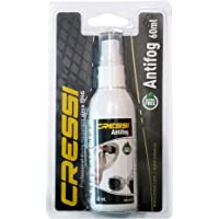 Cressi CRS DF200050 Anti fog Sprey Unisex, Şeffaf, 60 mililitre