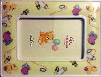 ec3d211ee03a Amazon.com   Cherie   Kalvin Collection Mini Baby Theme Photo Frames ...