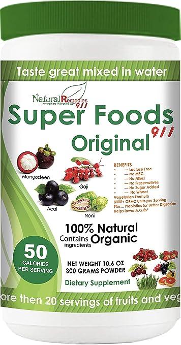 Amazoncom Nr911 Superfoods 911 Original Noni Mangosteen Goji