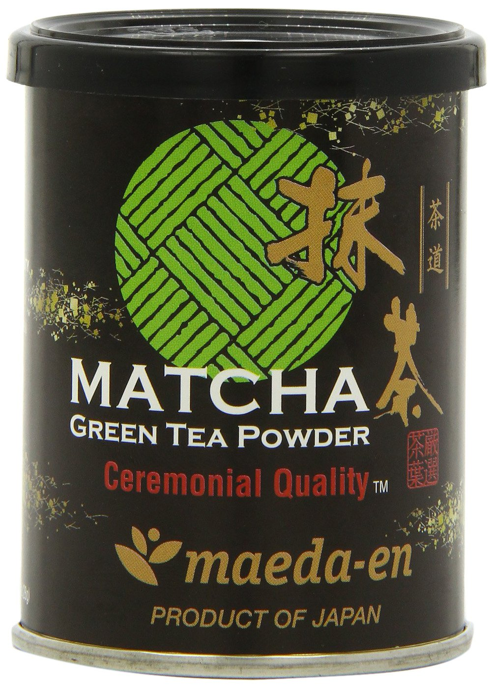 Maeda-En Matcha Ceremonial Quality Green Tea Powder, 1-Ounce by MAEDA-EN