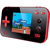 """My Arcade Gamer V Portable Gaming System - 220 Built-In Retro Style Games and 2.4"""" LCD Screen – Red/Black"""