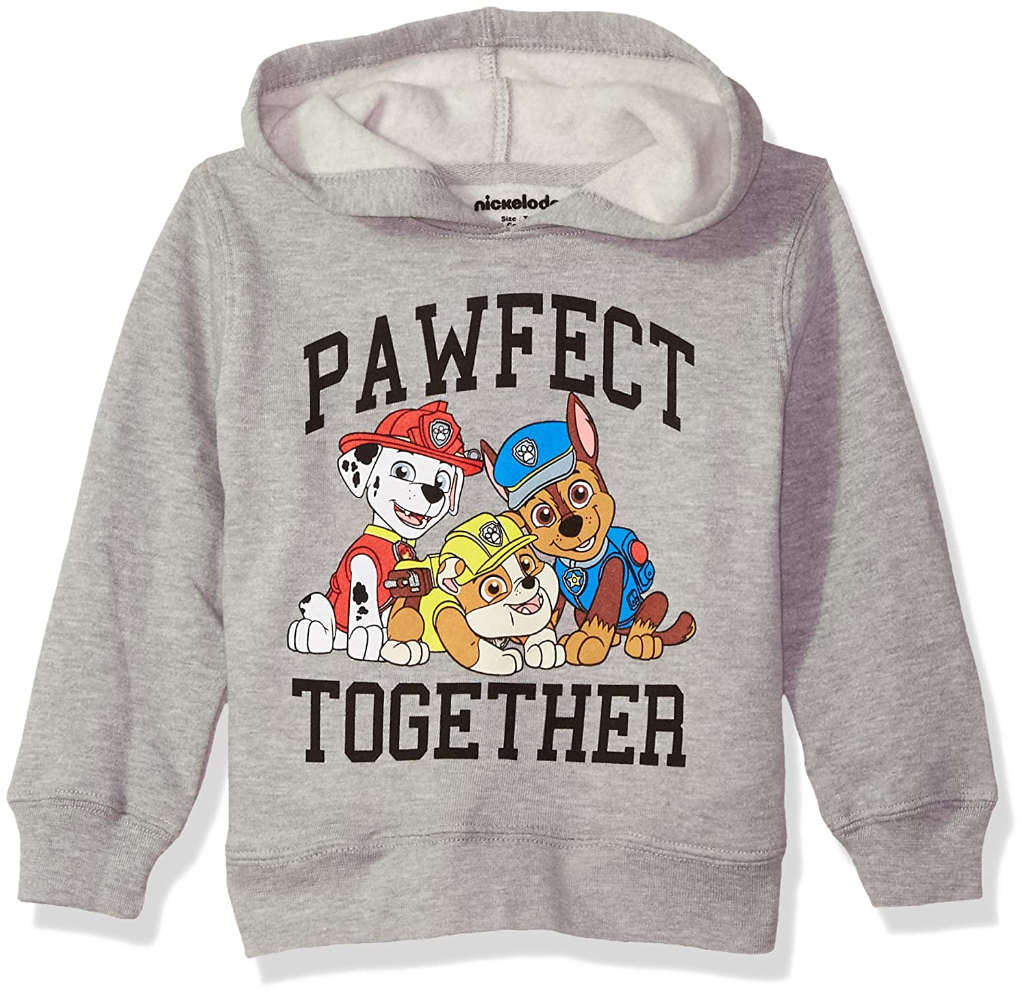 Nickelodeon Boys' Toddler Paw Patrol Pullover Fleece,
