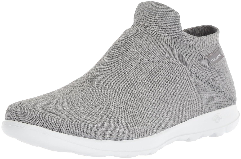 Skechers Women's Go Walk Lite-15372 Wide Sneaker B071KGG5P6 9.5 W US|Gray