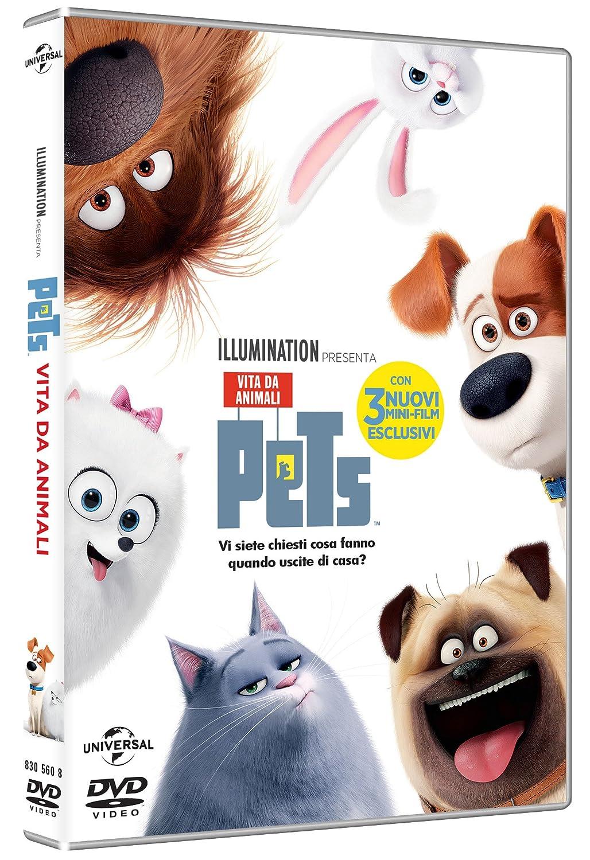 Risultati immagini per pets vita da animali dvd