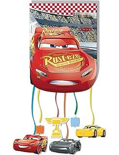 Unique Party Partido Ênico de neón Disney Cars Cuarto ...