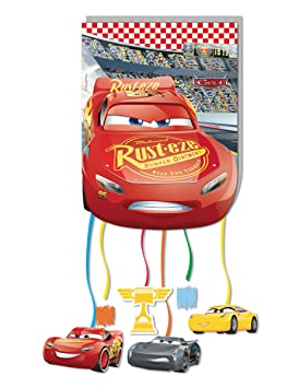 Pinata Cars 3 - Juego de 12 Piezas - Talla única ...