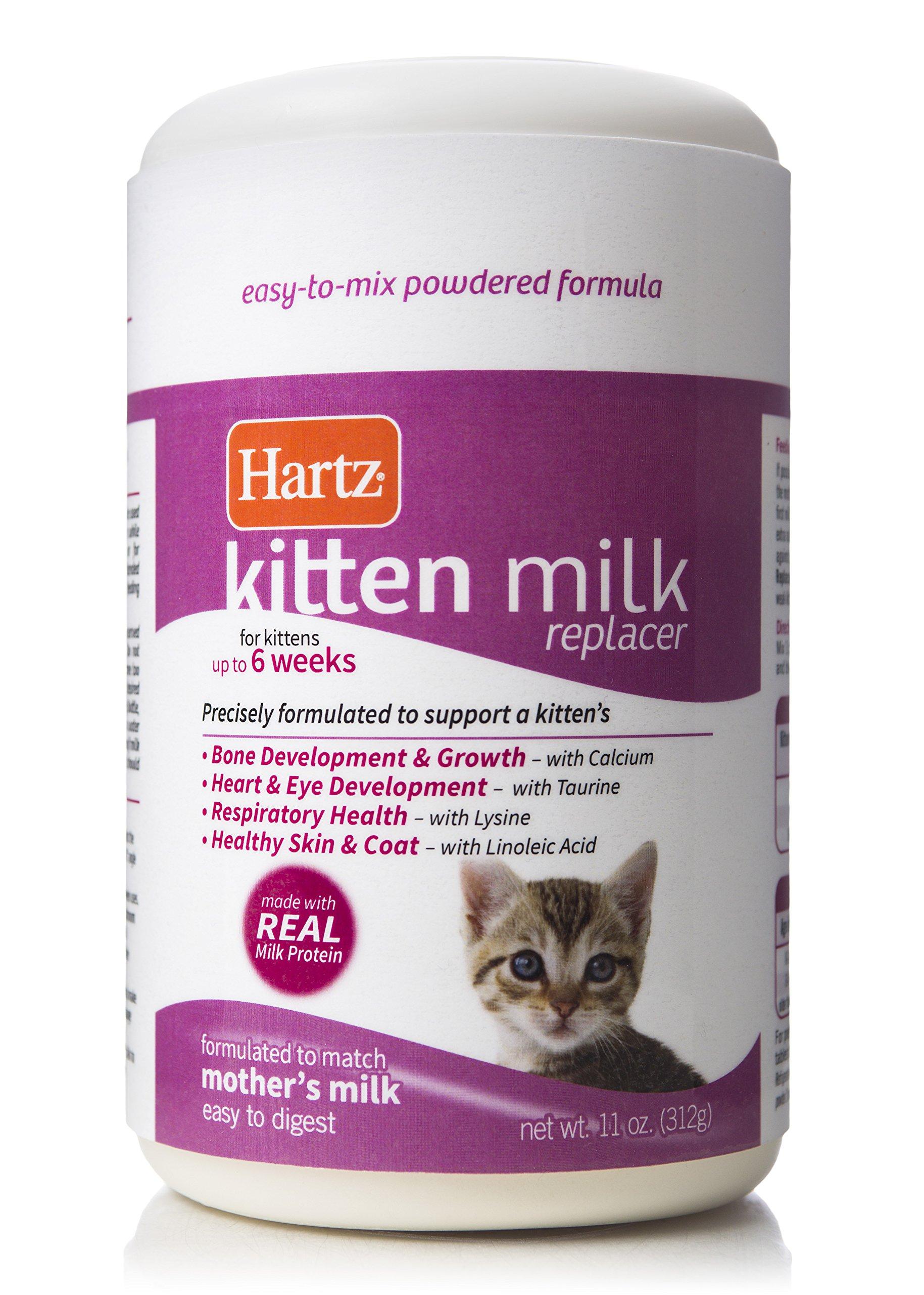 Hartz Powdered Kitten Milk Replacer Formula - 11Oz by Hartz