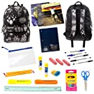 17 Inch Backpack with 24 Piece School Supply Kit - Students, Teachers, Classroom