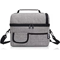 PuTwo 8L Insulated Women Men Cooler Bag with YKK Zip and Adjustable Shoulder Strap Tote