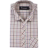 The Standard Checkered 100% Cotton Half Sleeve Regular Fit Formal Shirt for Men