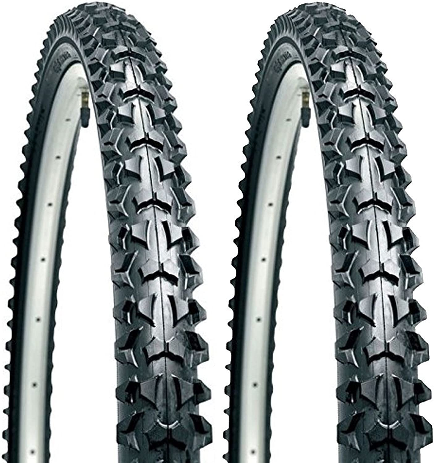 "1 Pair 2X Cst Eiger 26/"" X 1.95 Atb Mtb 26 Inch Mountain Bike Cycle Tyres"