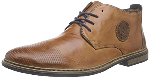 Rieker 13420 Mens Ankle Boots Brown brandymoganonavy24