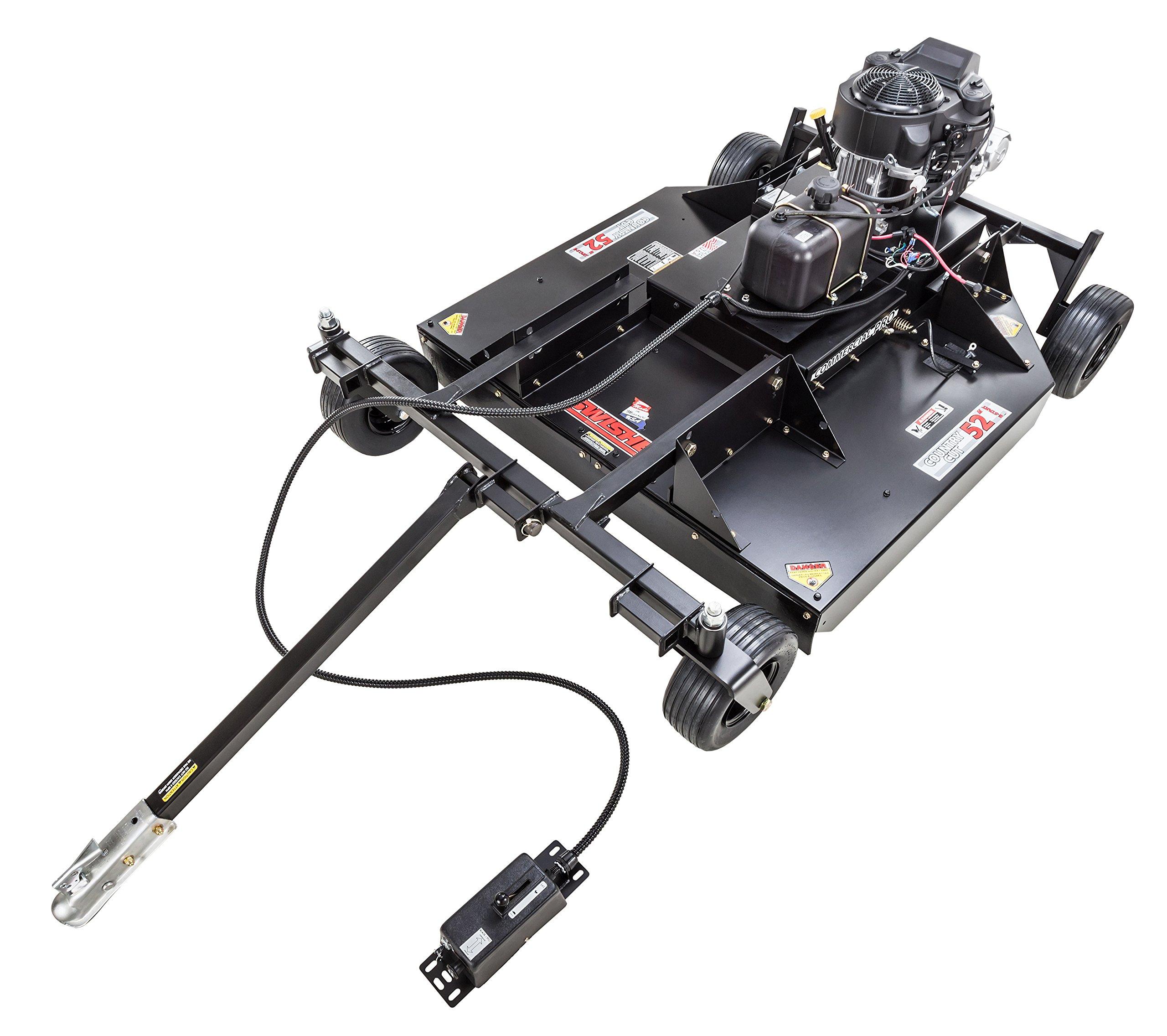 Swisher RC14552CPKA 14.5HP 12V Kawasaki Commercial Pro Rough Cut, Black, 52''