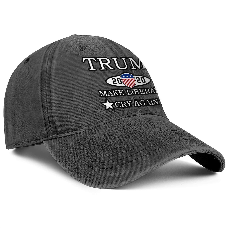BARHAC Trucker Cap Trump 2020 Grab Em Again Adjustable Lightweight Mountaineering Truckers for Women//Men