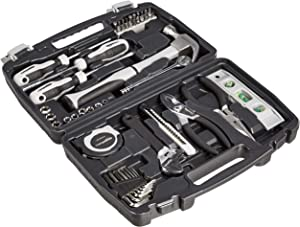 AmazonBasics 48-Piece General Household Home Repair and Mechanic's Hand Tool Kit Set