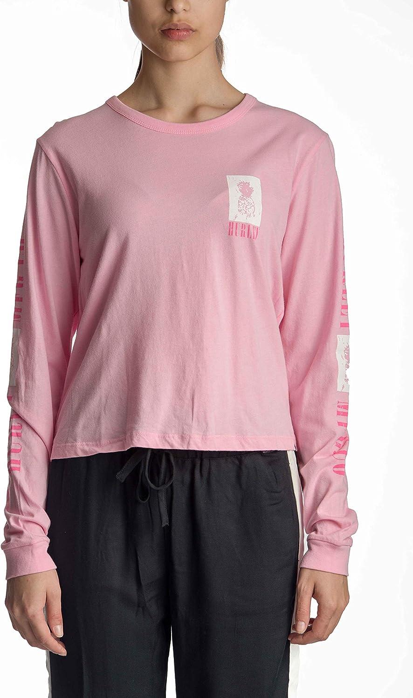 Hurley Women's Pineapple Perfect Long Sleeve Tshirt