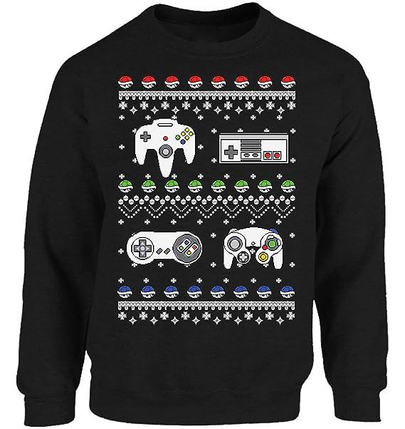 Nerdy Christmas Sweater.Funny Ugly Christmas Sweater Upside Down Sweatshirt Strange