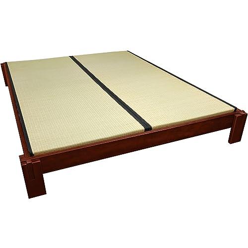 Asian Platform Bed Amazon Com