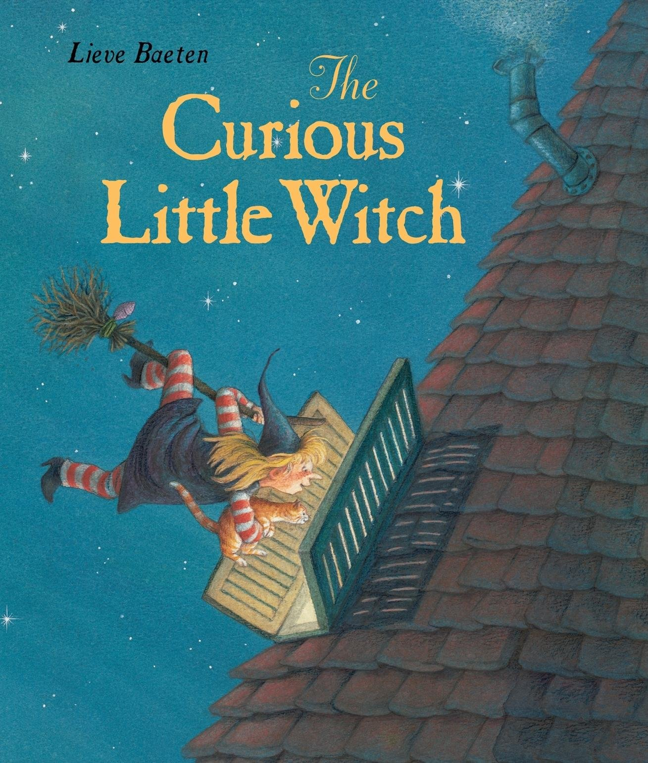 The Curious Little Witch: Lieve Baeten: 9780735823051: Amazon.com: Books