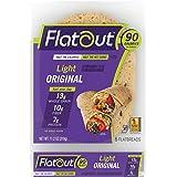 Flatout Wraps, Light Original (1 Pack of 6 Flatbreads)