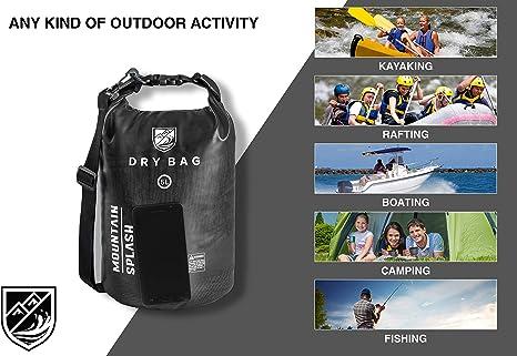 Savage Gear Waterproof Rollup Dry Bag 5 Liter wasserdichte Tasche Boot Kayak